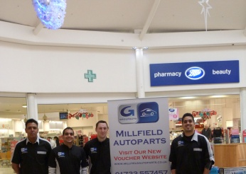 The Team on Sunday representing Millfield AutoParts